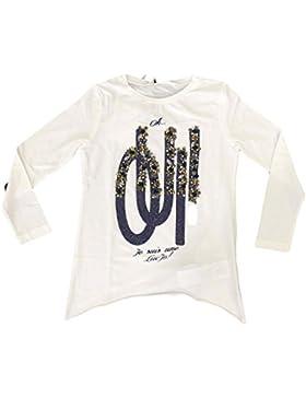 LIU JO Bambina G66060 White blue T-Shirt Autunno/Inverno