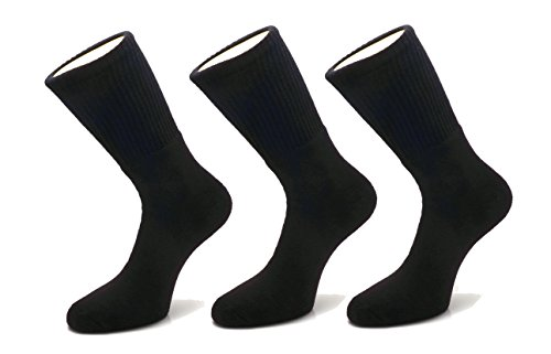 Footprints Organic Cotton Men Sports Full length Athletic Cushion socks