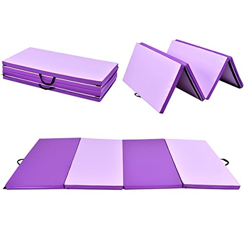 Gymax Folding Gymnastic – Exercise Mats