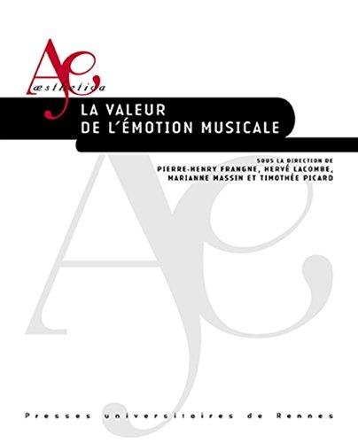 La valeur de l'motion musicale