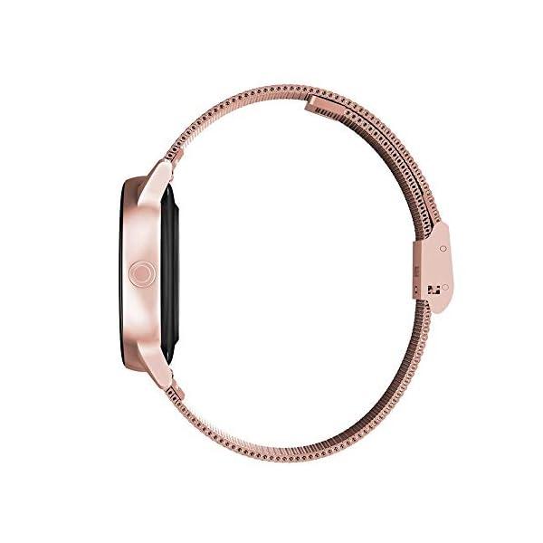 naack smartwatch, Reloj Inteligente Impermeable IP68 Pulsera de Actividad Pulsómetro Monitor de sueño Deportivo… 4