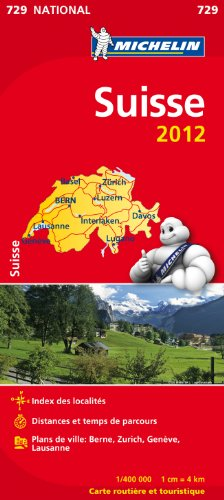 Carte NATIONAL Suisse 2012