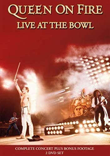 queen on fire live at the bowl (2dvd)