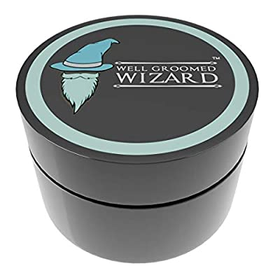 Well Groomed Wizard Beard Balm Cream and Conditioner, Beard Balm For Men with Natural Ingredients - 100 ml
