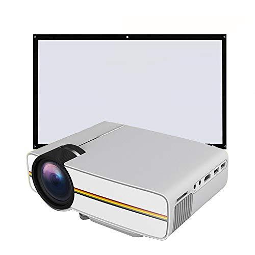 Link Co Videoprojektor mit Unterstützung 1080p tragbare Multimedia-Filmprojektion 130-Zoll-Mobiltelefon-Computerprojektion Geben Sie einen 72-Zoll-Bildschirm (Ge-video-kamera)