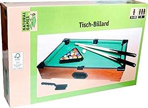 VEDES Großhandel GmbH - Ware Natural Games Mesa de Billar, Longitud 51cm