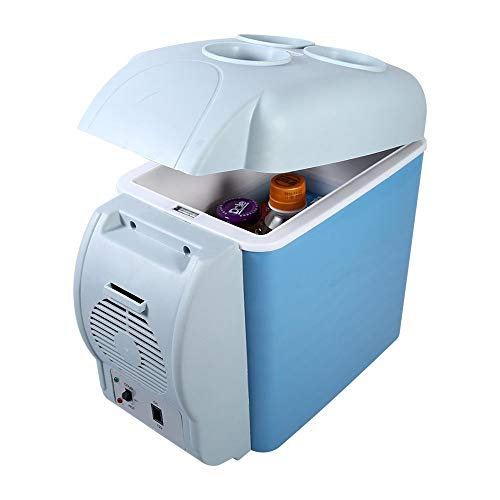 HANFEI Tragbare 12 V 7.5L Auto Auto Kühlschrank, Mini Reise Hause Kühlschrank Gefrierschrank Wärmer