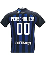 Maglia replica ufficiale F.C. Inter personalizzabile taglia XL stagione 2017/2018