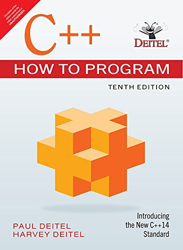 C++ How To Program, 10Th Edn