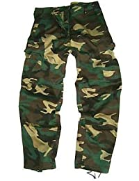 Boys 9-10 years DPM Woodland Camouflage Combat Cargo Trousers
