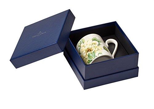 Villeroy & Boch quinsai Garden Becher mit Henkel, 0,30l, Porzellan Bone China, mehrfarbig (Garden Collection China)