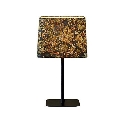 TIAN HENG XIN Lámpara de Mesa de Noche nórdica lámpara de mesita de Noche E27 Negro 26CM * 47CM