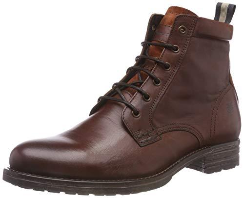 Marc O'Polo Herren Biker Boots, Braun (Cognac 720), 42 EU
