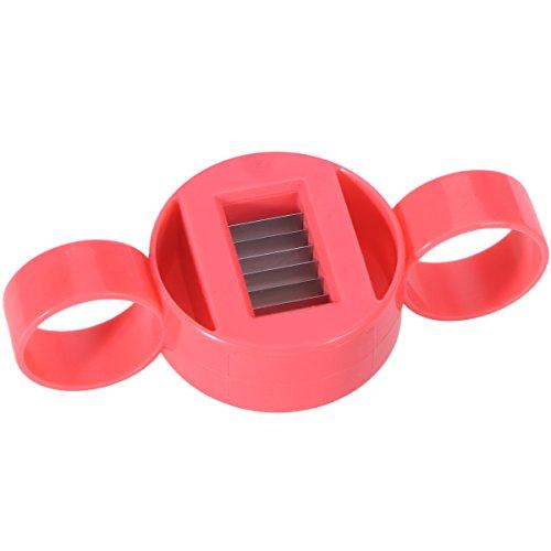 OUNONA Bohnenschneider Handheld Gemüse Slicer Cutter Kunststoff Küche Werkzeug