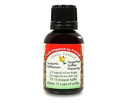 Arome pour café - sans sucre - Vanille 30 ml