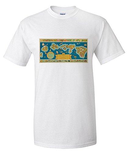 dole-map-of-the-hawaiian-islands-vintage-poster-artist-edwards-usa-c-1939-premium-t-shirt
