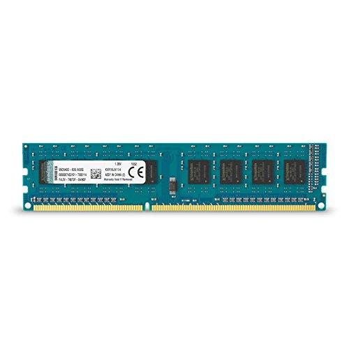 Kingston KVR16LN11/4 - Memoria RAM de 4 GB (1600 MHz DDR3L Non-ECC CL1