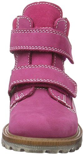 Richter Kinderschuhe Dragon, Bottes courtes avec doublure chaude fille Rose - Pink (Fuchsia 3500)