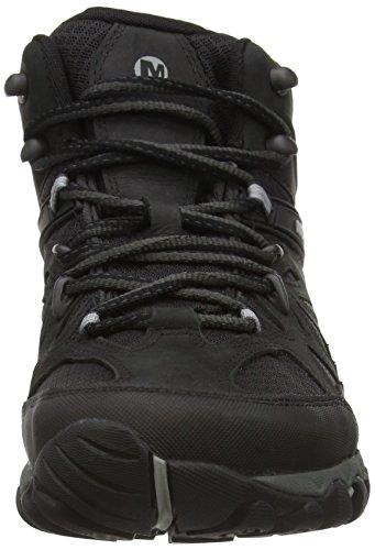 Merrell All Out Blaze Vent Mid Gtx, Chaussures de Randonnée Basses homme Noir (Black)