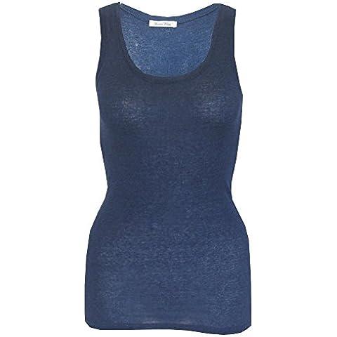 American Vintage - Camiseta sin mangas - Sin mangas - para mujer