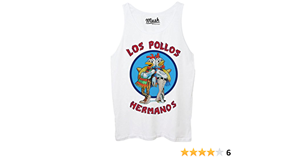 Film by Dress Your Style MUSH Canotta Los Pollos Hermanos Breaking Bad Donna-S-Bianca