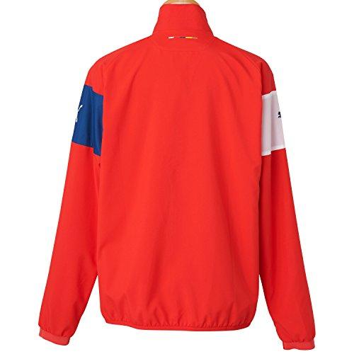 PUMA, Giacca Uomo AFC con sponsor Rosso (High Risk Red-Gray Dawn-Estate Blue-White)