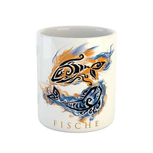 41AqUuUvCRL Sternzeichen Fische Kaffeetasse Becher Tasse