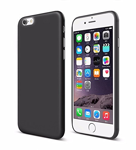 Chevron Soft Silicone Shockproof Slim Back Cover Case For Apple iPhone 6/6S - Space Black