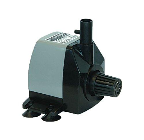 Hailea HX-2500 Regelbare Pumpe, 650 l/h, maximal Förderhöhe 1,2 m, mit Luftleitung, schwarz, 14x10x11 cm, 10-450-410 O2 Power Adapter