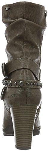 Tom Tailor - 1690404, Stivali a metà polpaccio non imbottiti Donna Marrone (Marrone (tortora))