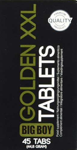 """Cobeco Penisverlängerung""""Big Boy Golden XXL"""" 45 Tabletten, 1er Pack (1 x 45 Stück)"""