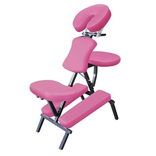 Mari Lifestyle Ultra Leichter Profi Stahl Massagestuhl für indische Kopfmassage Stuhl | Für Massage, Spa & Chiropraktische Therapie | Beauty, Kosmetik, Maniküre & Tattoo Studios | Mit Tragetasche
