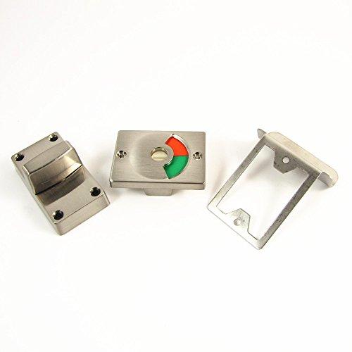 Cassetta di sicurezza Servizi igienici Bagno Indicatore Bolt Door Lock