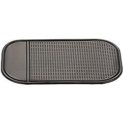 Libroty Car Dashboard Sticky Pad Car Gadget Tappetino in Silicone Automobiles Interni Tappetino Antiscivolo Accessori per Veicoli universali - Nero