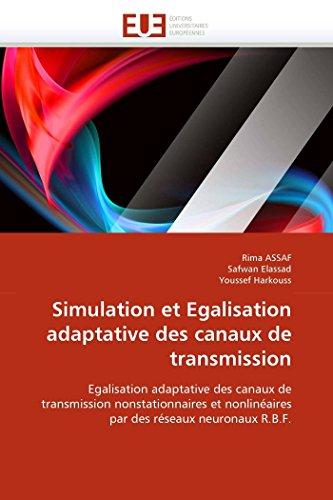 Simulation et egalisation adaptative des canaux de transmission par Rima ASSAF