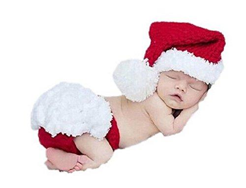 Demarkt Ropa Infantil Lindo de Navidad del bebé recién Nacido del Ganchillo...