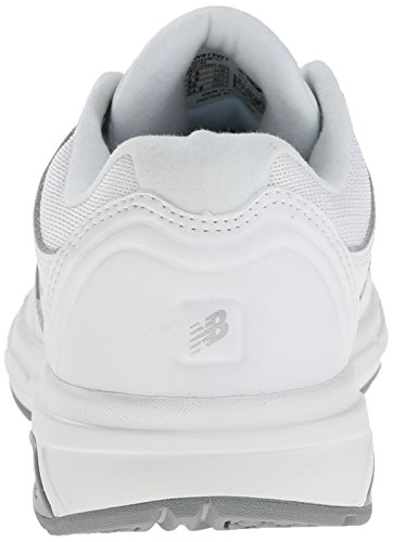 New Balance Women's WW813 Walking Lace Shoe, White, 10 2E US White