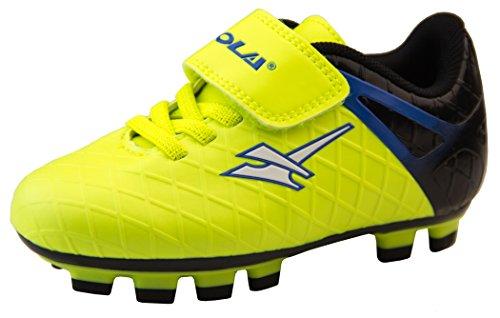 Gola Jungen Activo5 Blades Astroturf Fußballschuhe Sports Turnschuhe Gelb und Schwarz EU 27 (Fußball-schuhe Für Kinder, Nike, Größe 4)