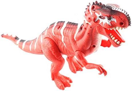 Angelof - Jouet - ModèLe Exposé - Dinosaur De Marche avec Allumer Et Son - IdéE Cadeau Unique - Personnalisé   Doux Et Léger