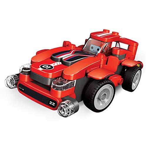 Yousheng Kinder Spielzeug Bau Spielzeug Mini Auto Spielzeug Für Kinder Kleinkinder Jungen, Zurückziehen und Gehen Auto Spielzeug Spielen Set