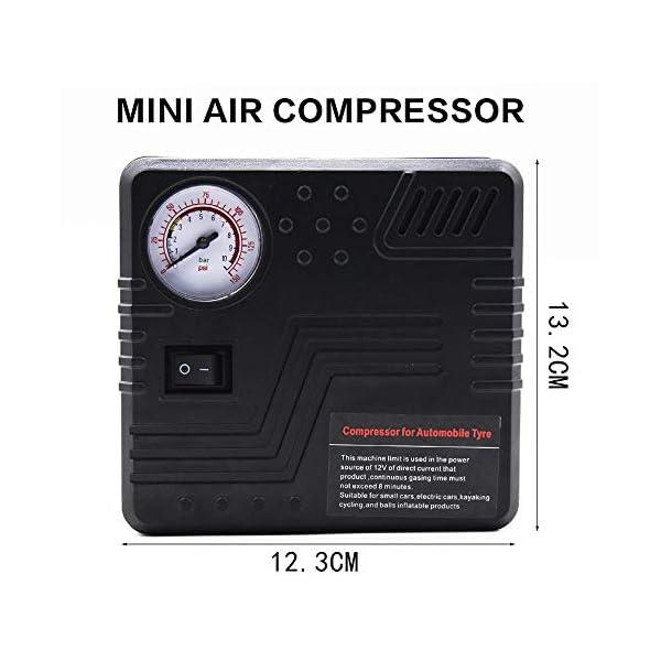 Womdee Arrancador de Coche, Portatil Jump Starter de 20000mAh 1000A(para 5.0L de Diesel o 6.0L de Gasolina) 8 Piezas…