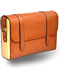 Paradox Mens / Womens Messenger / Sling Bag Blue Brown Color