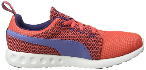 Puma - Carson Runner Knit Wn'S, Sneakers da donna Rosso (Red - Rot (cayenne-bleached denim-astral aura 02))