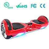 BEBK Hoverboard 6.5' Smart Self Balancing Scooter Elettrico, Oveboard con LED...