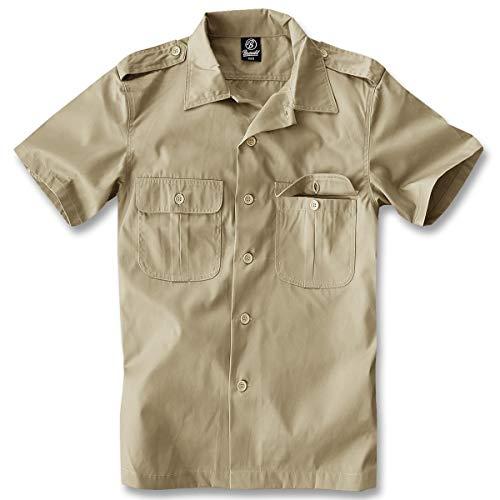 Brandit US Hemd Kurzarm Beige - XL