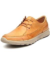 f024e607197aa Fuxitoggo Zapatos de Cordones de Cuero Genuino para Hombre Zapatos de  conducción Respirables Antideslizantes de Suela