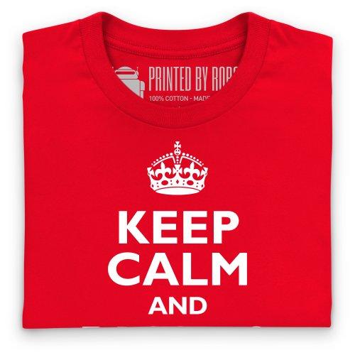 Lions 2013 Pass To George T-Shirt, Herren Rot