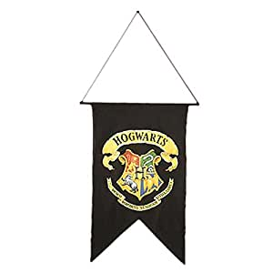 harry potter party deko hogwarts banner fahne halloween. Black Bedroom Furniture Sets. Home Design Ideas