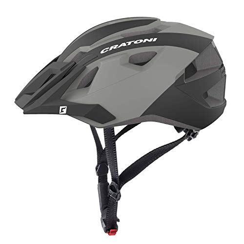 Cratoni Mountainbike Helm AllRide, Black-Anthracite matt, Gr. Uni (53-59 cm)