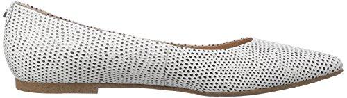 Belmondo 70311502 Damen Geschlossene Ballerinas Weiß (bianco)